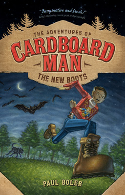 The Adventures of Cardboard Man: The New Boots