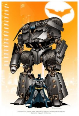 DWhite_Batmobile_Robot
